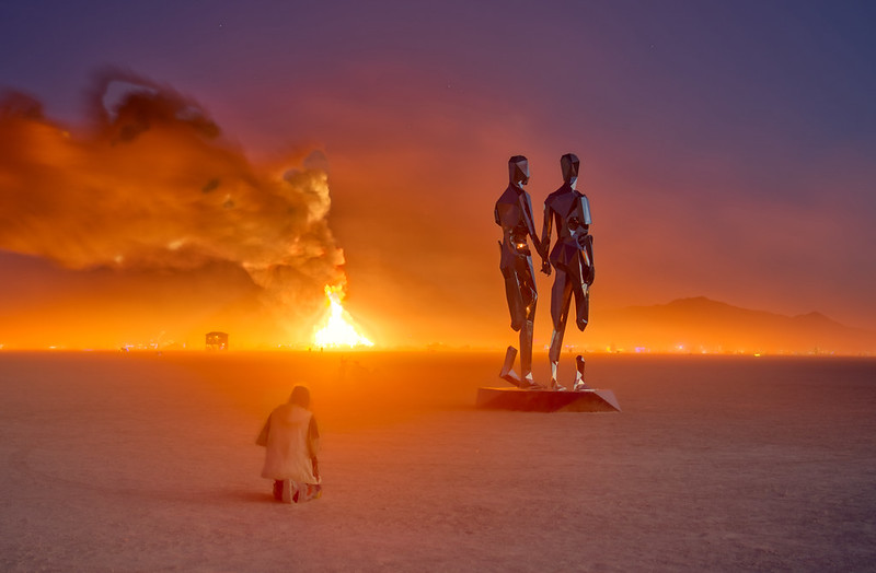 Burning Man Is Cancelled for First Time In Its History