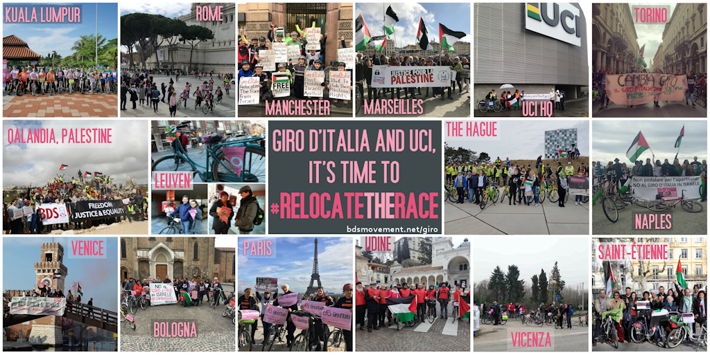 #RelocateTheRace International Day of Action