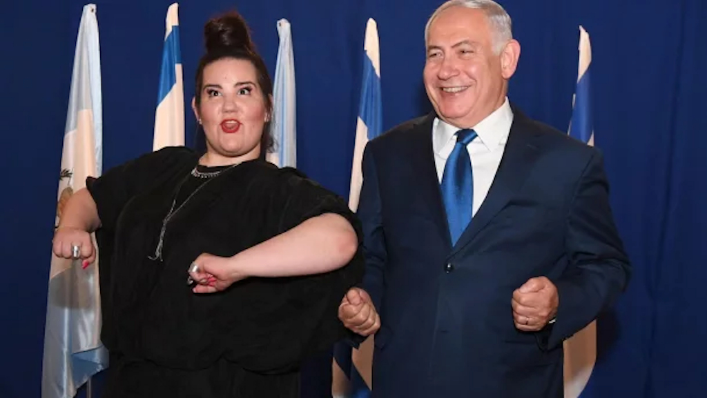Netta Barzilai, Cultural Ambassador for Israel's Regime of Occupation and Apartheid