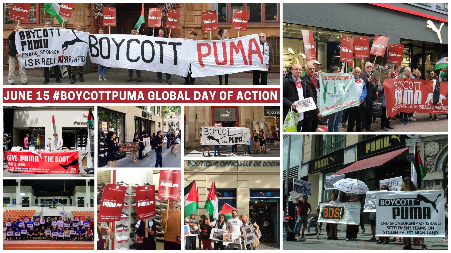 Boycott Puma Global Day of Action