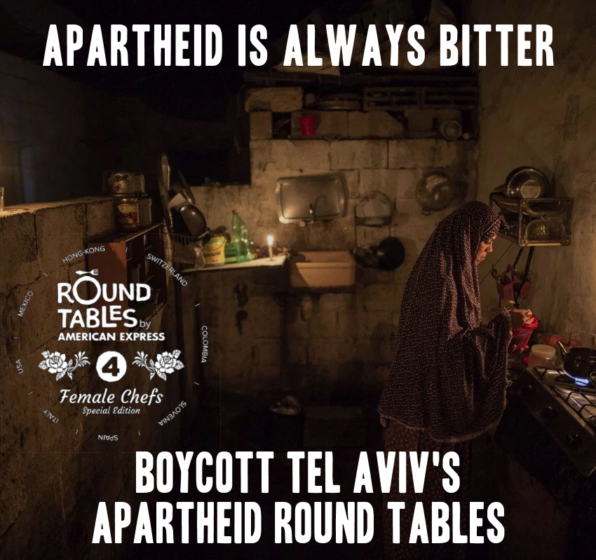 Boycott Apartheid Round Tables in Tel Aviv