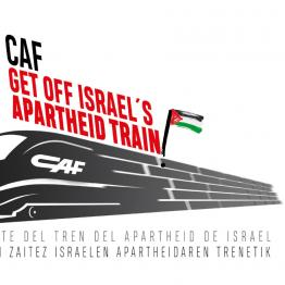 CAF get off Israel's apartheid train