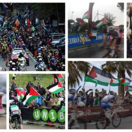 Giro d'Italia protests