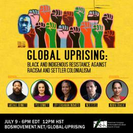 Global Uprising: Webinar with Michael Bennett, Pele Bennett, Joy Lehuanani Enomoto and Nick Estes