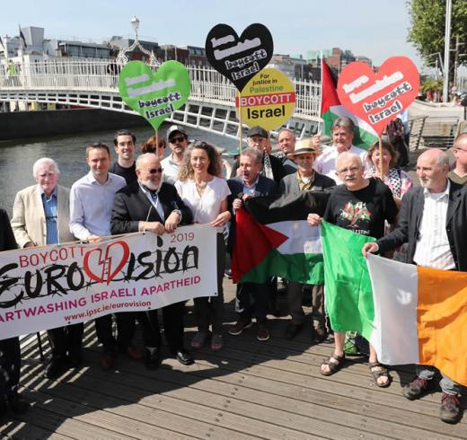 Celebrities in Ireland call for Eurovision 2019 boycott if hosted by Israel