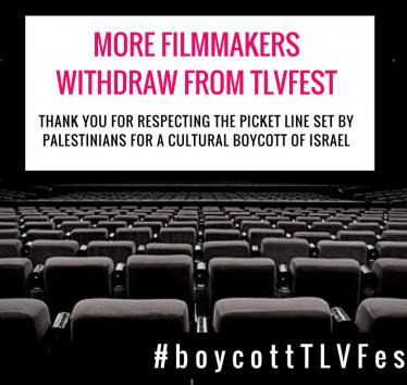 More filmmakers withdraw from TLVFest